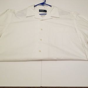 Polo by Ralph Lauren Button up XL embroidered